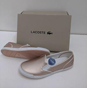 New Lacoste flats Size 9